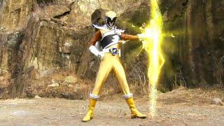 Power Ranger Dino Charge   Aparece un nuevo ranger: Sir Ivan el Ranger Oro - capitulo 11
