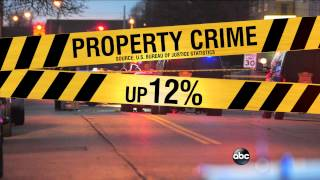 WEBCAST: Property and Violent Crimes Are Up