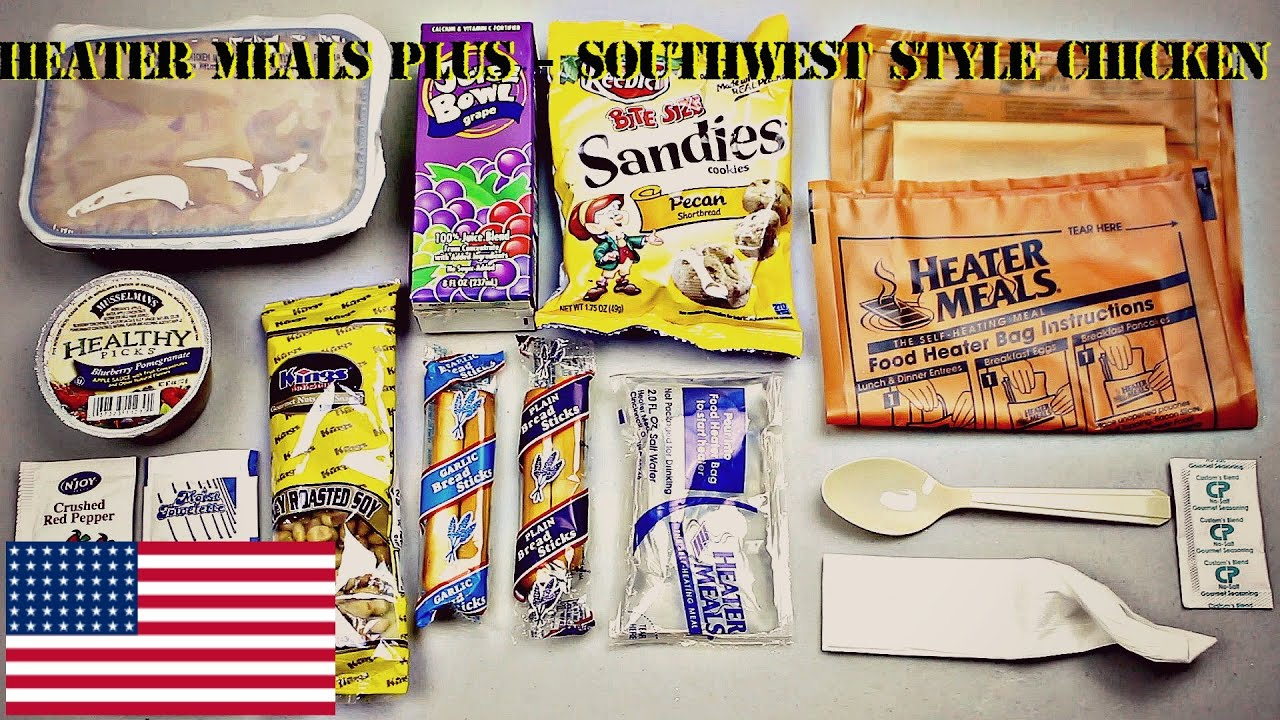 Mre Review Heater Meals Plus Southwest Style Chicken