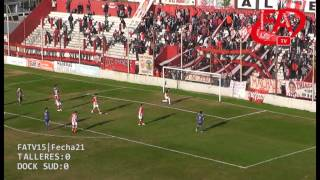 FATV 15 Fecha 21 - Talleres 2 - Dock Sud 1