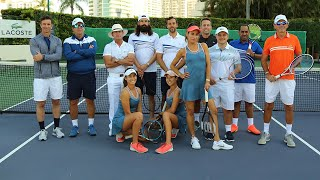 Lacoste Experience Tennis Event