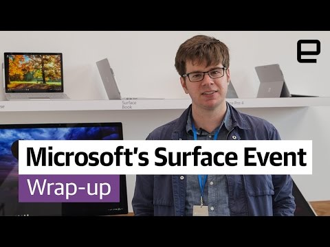 Microsoft Surface Event: Wrap-Up