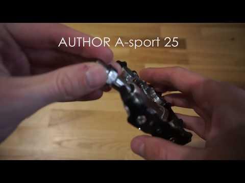 Педалі Author A-sport 25