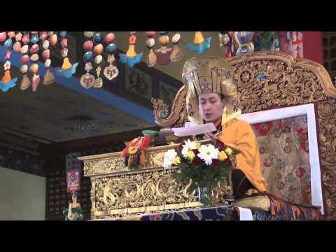Karmapa Manjushri empowerment 2013