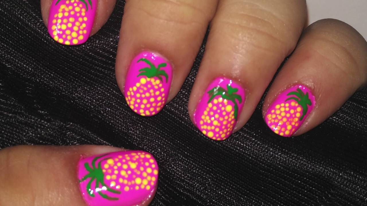 II Summer Nail Art II summer special collaboration - YouTube