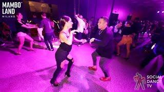 Brandon, Benny & Michelle & Ashley - Salsa Social Dancing | Mamboland Milano 2019