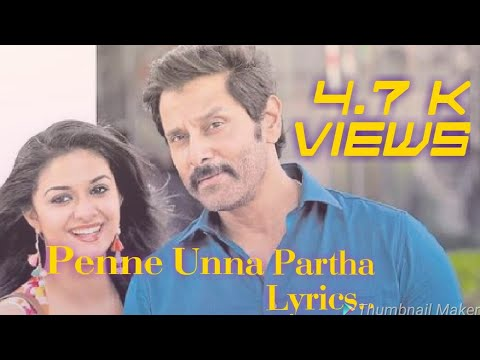 Samy-II  Penne Unna Partha.. Lyrics ...hd..