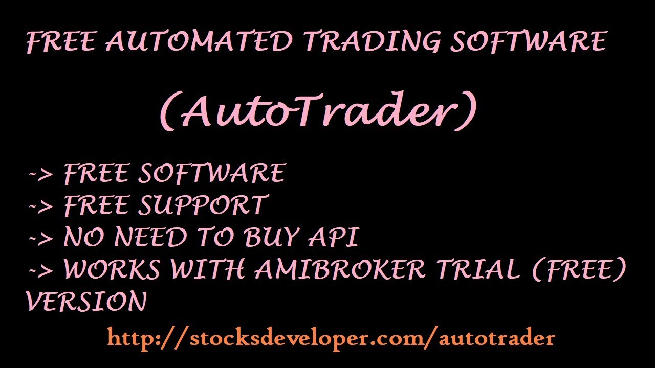 Free Automated Trading With Nest Amibroker Youtube
