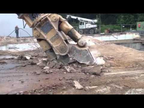 MC in action - OSA Demolition Equipment