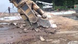 MC in action - OSA Demolition Equipment
