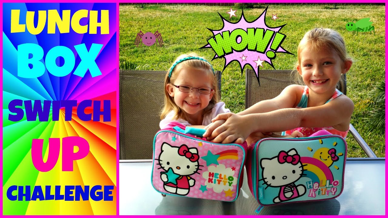 Lunch box switch up challenge magic box toys collector youtube ccuart Gallery