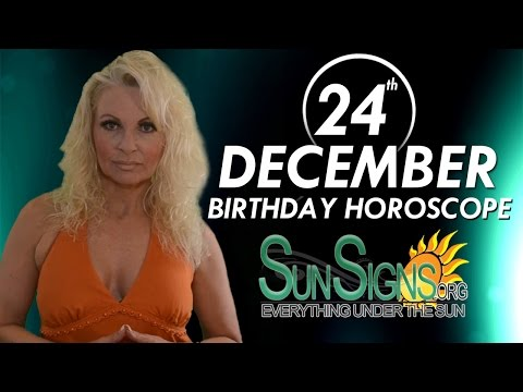 december 24 capricorn birthday horoscope