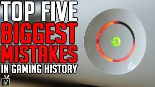 Top Five Biggest Mistakes in Gaming History - rabbidluigi