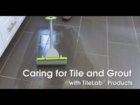 Caring For Tile And Grout With Tilelab Cleaning Products Youtube