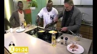 Mad Buddies omelet Challenge (18.06.2012)