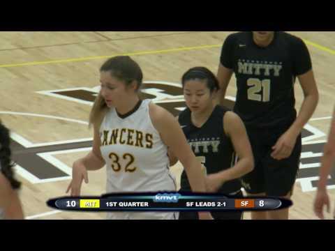 Archbishop Mitty Monarchs vs St. Francis Lancers - Girls Basketball February 10, 2017