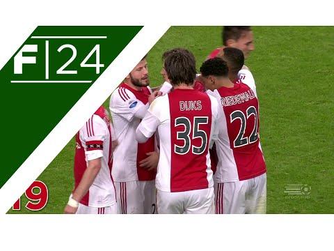 Ajax's 19 Pass Total Football Goal