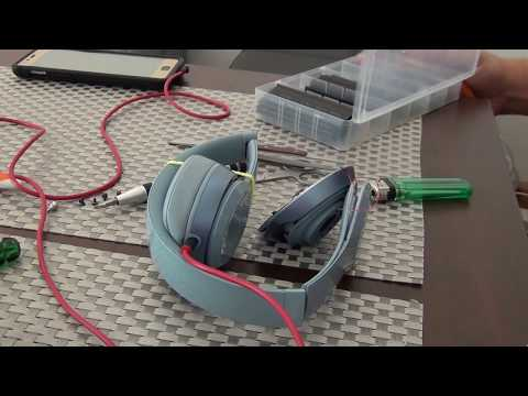 beats by dr dre  solo 2 .  wire repair . cheap . easy .  quick  . one side not  working repair