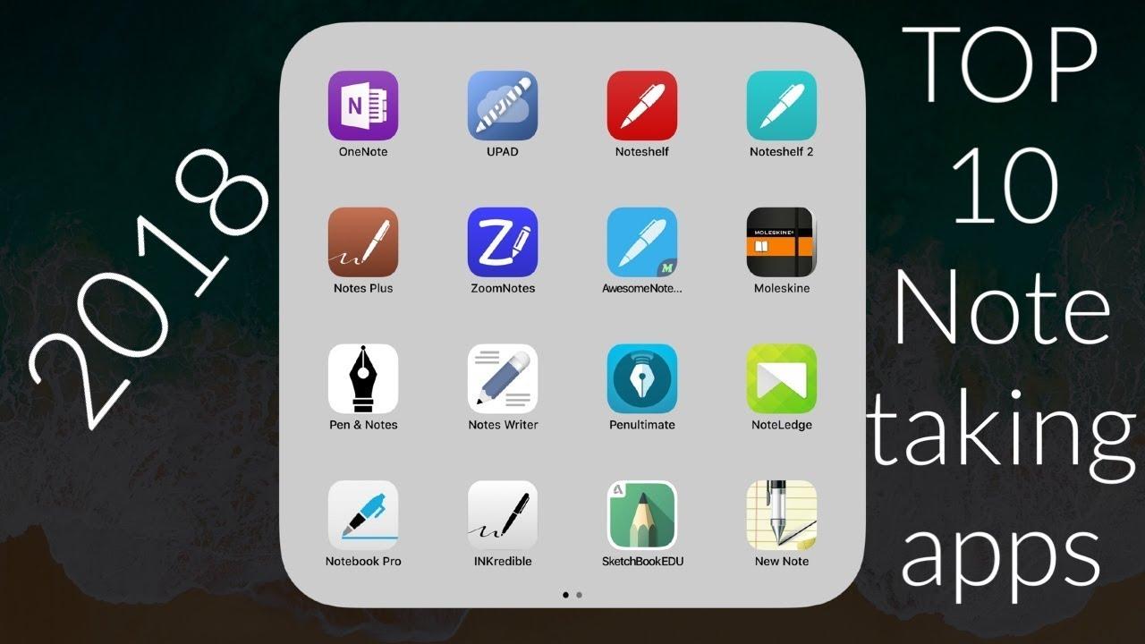 Top Ten Apps For Ipad