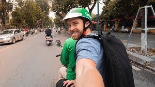 BEST WAY TO TRAVEL IN HANOI VIETNAM - Vlog 138