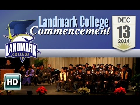 Landmark College Commencement: Fall 2014