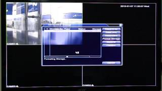 How to format HDD DVR