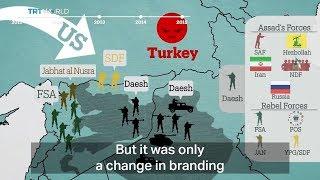 История войны в Сирии: версия турецкого СМИ.