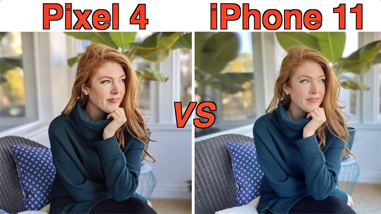 iPhone 11 VS Pixel 4 - Pixel 4 cho hình ảnh chân thực hơn hẳn với cân bằng sáng trên gương mặt vừa đủ