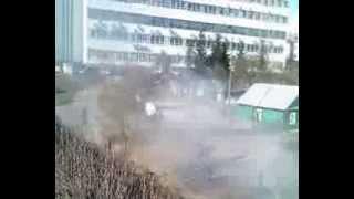 Годовщина памяти Чернобыльской трагедии-г.Брянск, проспект Ленина  26апреля 2013г.