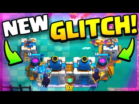'NEW OP FURNACE GLITCH' Nyte Witch Golem TRAP in Clash Royale!