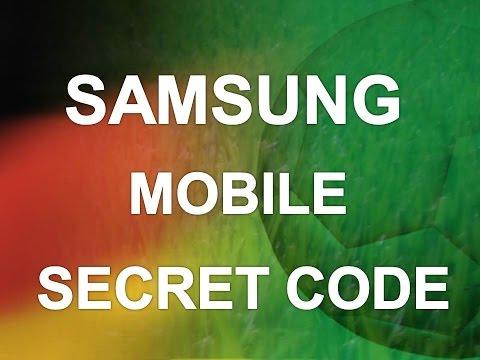 Samsung Mobile Secret Codes