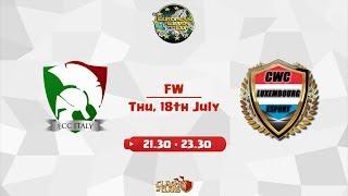 [ECC] ITALIA vs LUSSEMBURGO - FW di selezione