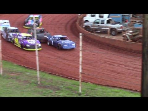 Winder Barrow Speedway Advanced Four Cylinders Race  4/9/16