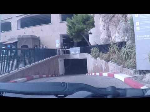 Monaco by Car - du Chemin des Pecheurs Car Park
