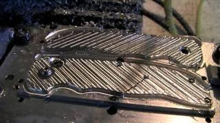 Knifemaking Tuesdays Week 04 - machining the first pair of handles!