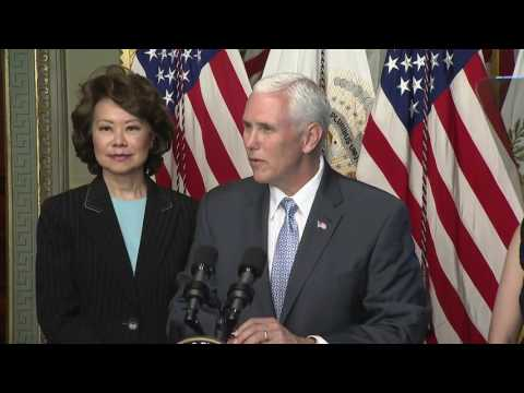 Vice President Mike Pence White House Asian American and Pacific Islander Heritage Month Reception