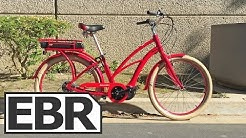 Raleigh Retroglide iE Video Review - Mid Drive Electric Bike, Classic Cruiser