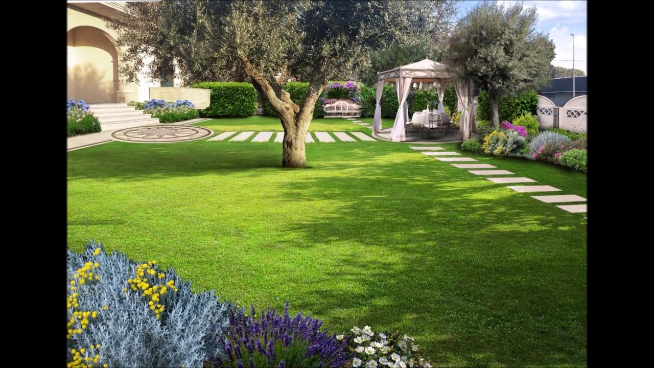 Foto Giardini Con Gazebo.Il Giardino Classico Con Gazebo 21