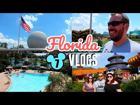 Disney vlog 2018 | Disney World and Universal : Day 6 part 1 | Epcot, pool hangs and car chats