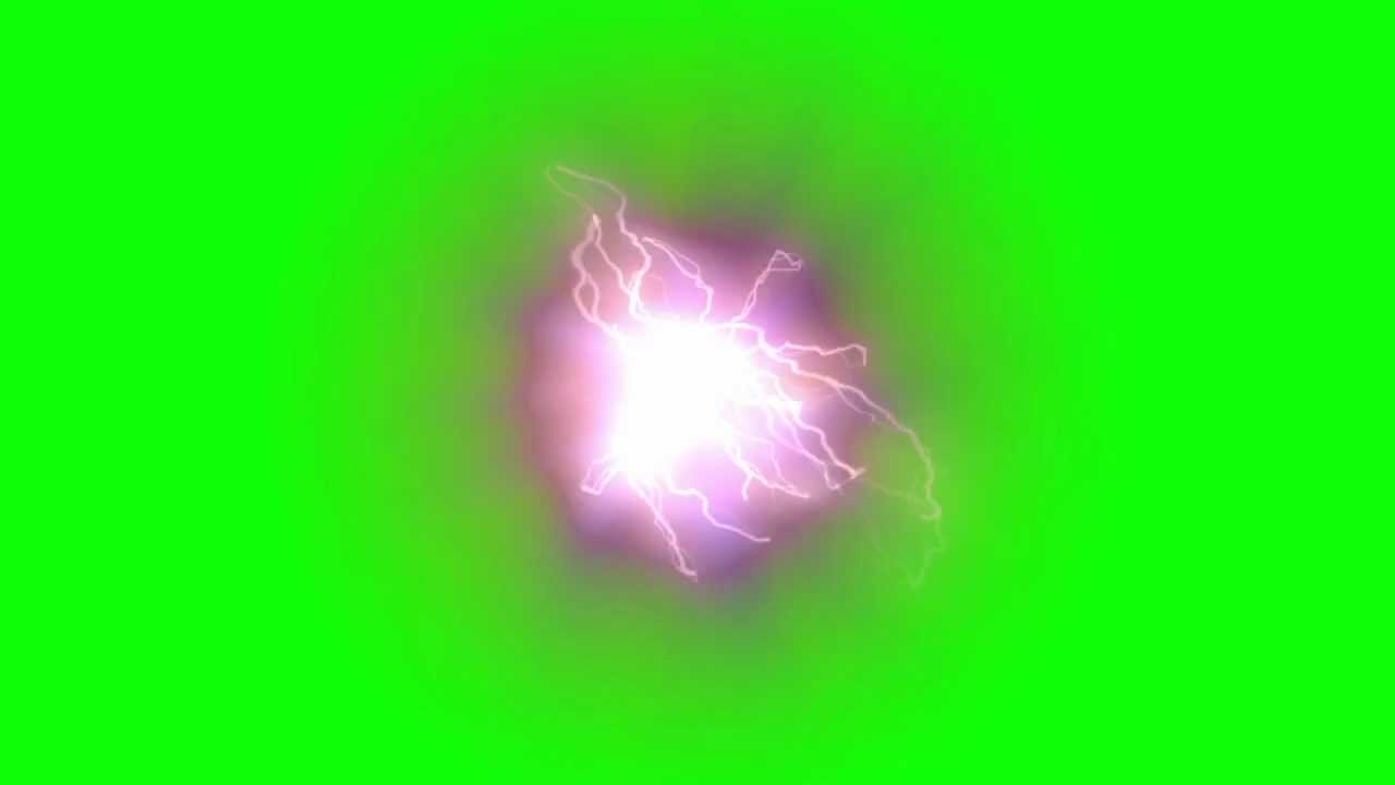 Electric Spot Green Screen 1080p Youtube