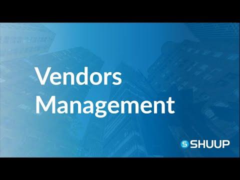 Vendors Management