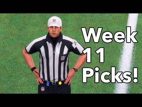 NFL Football Week 11 PICKS (ALL GAMES) Predictions, Discussion & Debate!
