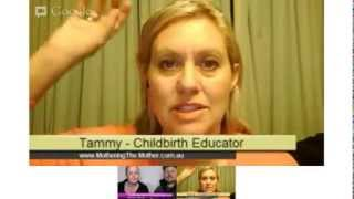 "New Parenting Hangout explains ""Empowering Labour Techniques"" with Tammy Halliday"