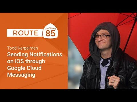 Sending Notifications on iOS through Google Cloud Messaging (Route 85)