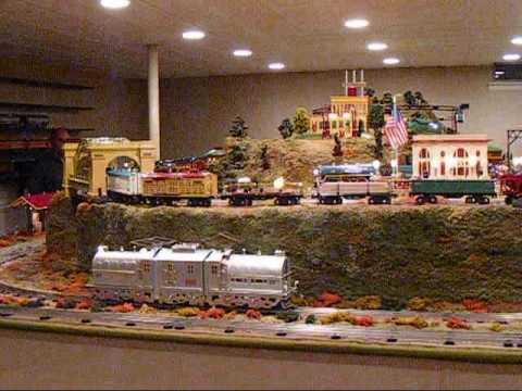 Snyders Model A >> Standard Gauge Train Layout - YouTube