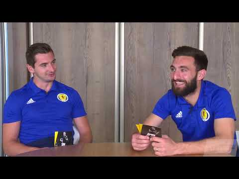 Kenny McLean & Graeme Shinnie - Football Friends Reunited - Scotland
