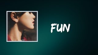 Fun by selena gomez album: rare (deluxe) spotify: https://open.spotify.com/track/0mc9g3xufrhqbmtbxsjku7 lyrics: this is just what the doctor ordered (yea...