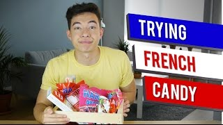 Trying French Candy