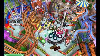 The Gaming Experience: 3D Ultra Pinball Thrillride Part 1 - Game 1