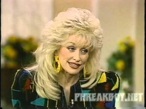 Dolly Parton Kathy Lee Regis 1992 Straight Talk Interview